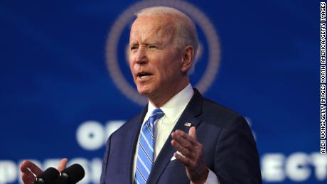 Biden wrests control of Trump's spotlight and makes first big bet of presidency