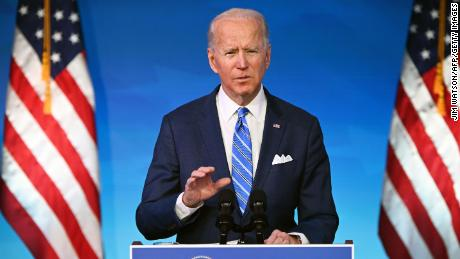 Biden outlines plan to administer Covid-19 vaccines to Americans
