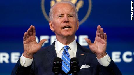 Biden crafts inaugural address to unify a country in crisis