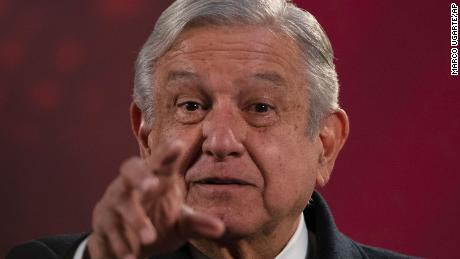President Andres Manuel Lopez Obrador said the government remains committed to cracking down on drug cartels.