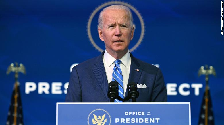 Biden to sign executive orders rejoining Paris climate accord and rescinding Muslim ban on first day