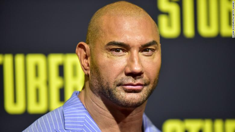 Actor Dave Bautista offers $  20,000 in case of manatee scraped with word 'TRUMP'
