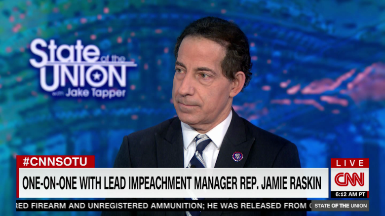 Impeachment managers: Trump aimed 'loaded cannon' at Capitol