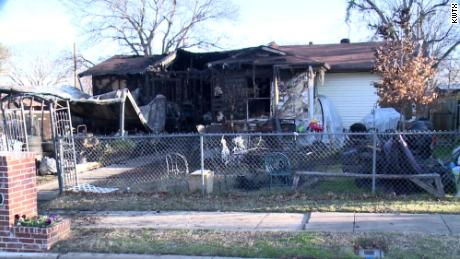 The family's home was a total loss, CNN affiliate KWTX reported.