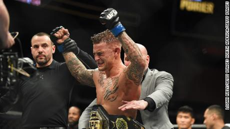 Dustin Poirier became Interim Lightweight Champion at UFC 236 on April 13, 2019 in Atlanta, Georgia.