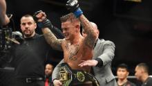 Dustin Poirier became Interim Lightweight Champion at UFC 236 on April 13, 2019 in Atlanta, Georgia.