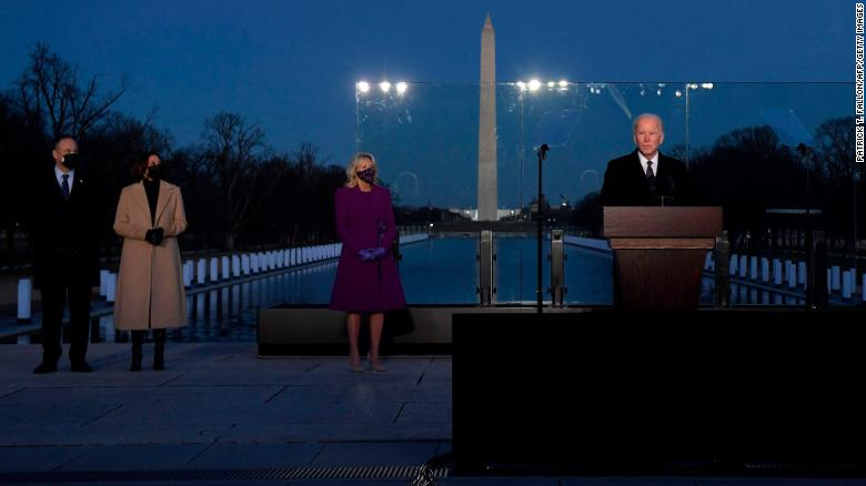 Biden to mark upcoming 500,000 US Covid-19 deaths with candle lighting ceremony