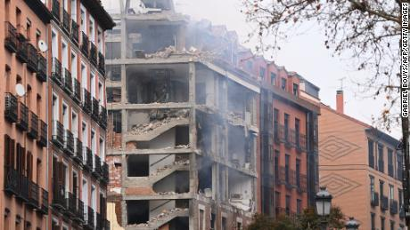 Explosion in Spain kills at least two, partially destroys building