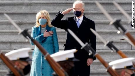 Many Biden White House staff are working from home in another break from Trump