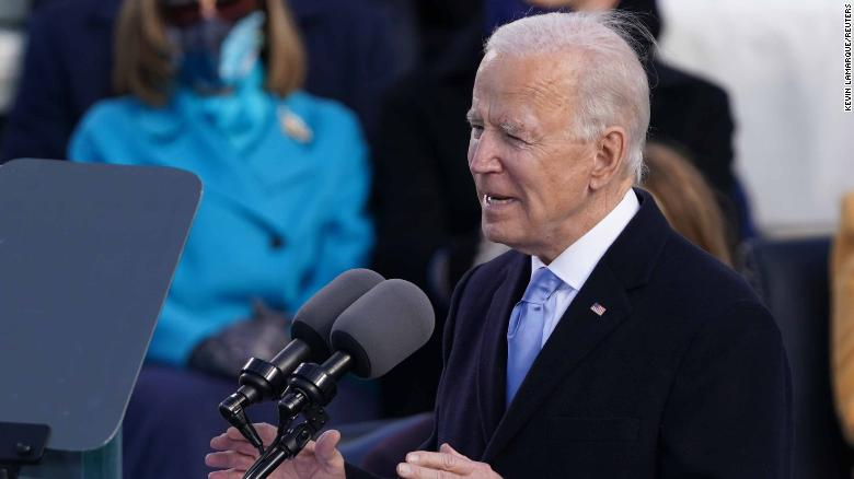 LEGGERE: Joe Biden's inaugural address