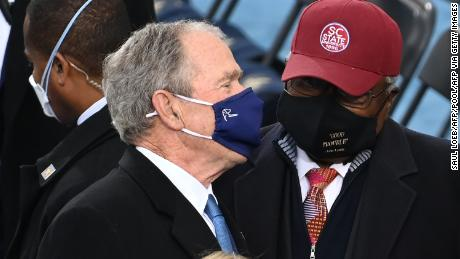 George W. Bush to thank Dick Cheney, father of Liz Cheney, 'for his daughter's service'