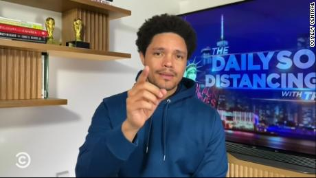 """Late-night talk show host Trevor Noah stars in """"The Daily Show."""""""