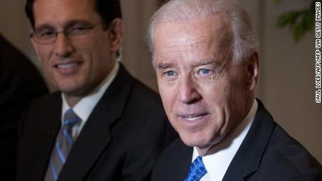 If there's anyone who can reach a deal, Dit's Joe Biden