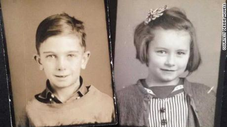 School photos of Dick and Shirley.
