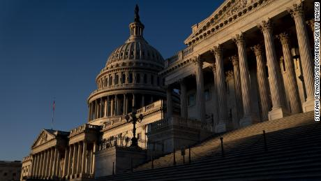 The U.S. Capitol on Friday, Jan. 22, 2021.