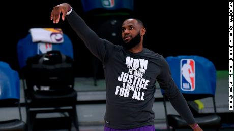 LeBron James has always used his platform to fight for equality.