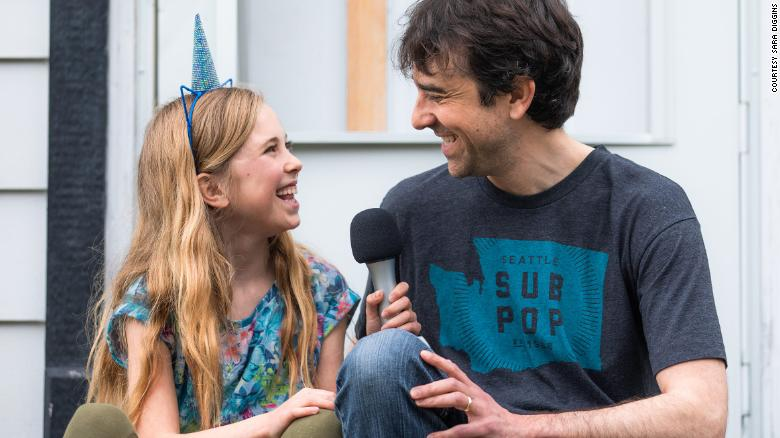 A dad and his young daughter turn their Covid isolation into a popular podcast