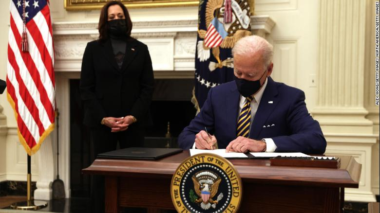 Biden to sign executive orders related to 'equity'