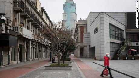 The lockdown in 2020 turned Wuhan's bustling commercial district into a ghost town.
