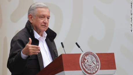 Mexican President Andres Manuel Lopez Obrador tests positive for Covid-19