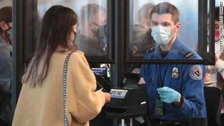 Homeland Security gives TSA workers authority to enforce Biden's mask mandate
