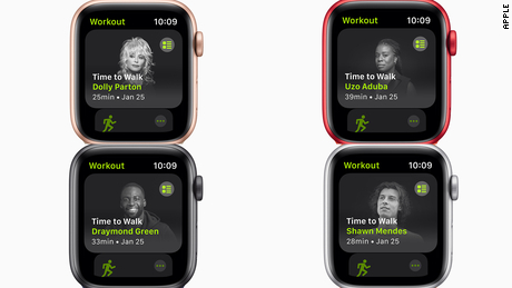 Apple now lets you take a 'walk' with Shawn Mendes and Dolly Parton