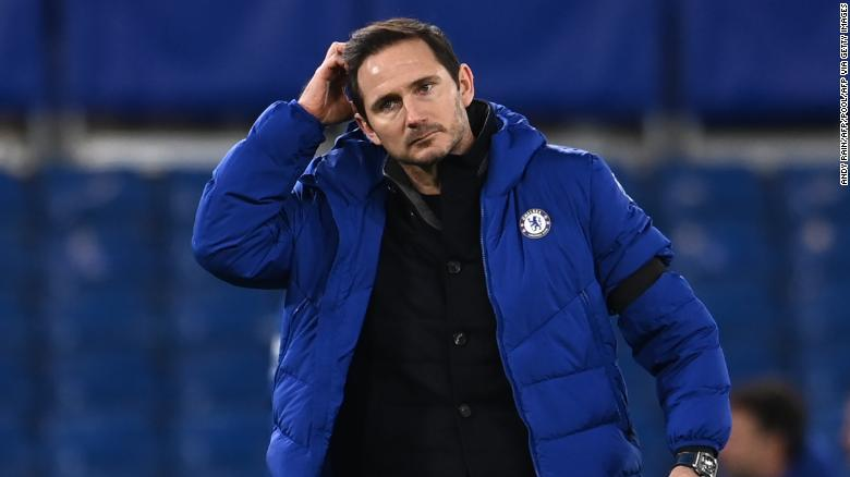 Chelsea sacks manager Frank Lampard