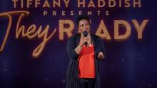 "Erin Jackson appears in season two of ""Tiffany Haddish Presents: They Ready."""