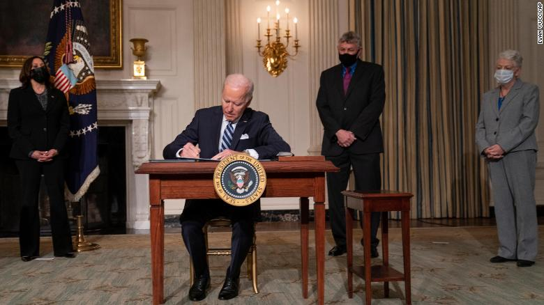 Biden has signed 42 executive actions since taking office. Here's what each does