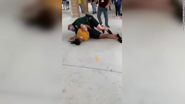 Florida officials investigating deputy allegedly seen in video taking student to the ground