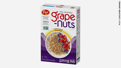Grape-Nuts will be back on shelves in March