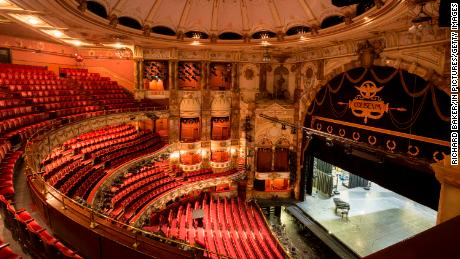 The English National Opera (ENO) is based the the Coliseum theater in London.