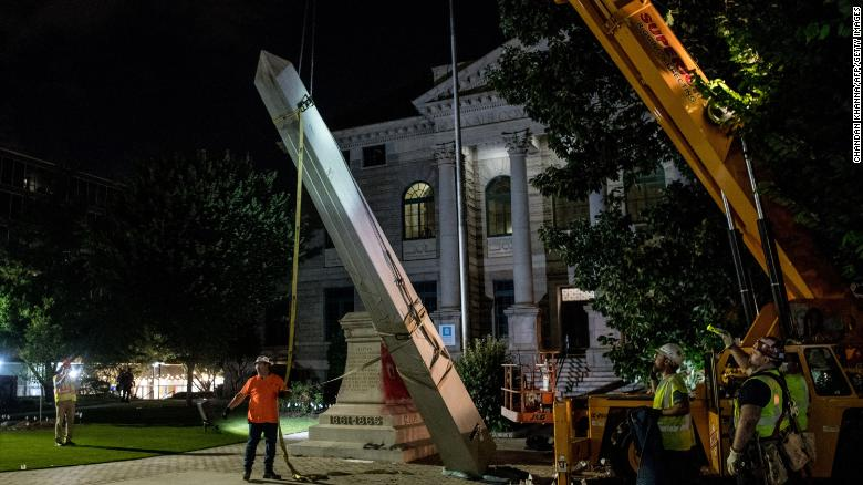A Georgia city is replacing a Confederate monument with a statue of civil rights hero John Lewis
