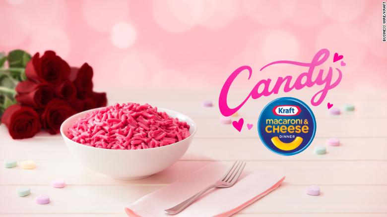 Kraft is cooking up pink mac & cheese for Valentine's Day