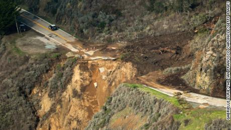 Hwy 1 Big Sur closure boundaries moved