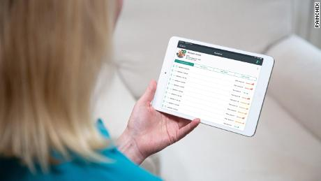 To use PainChek, carers record a short video of the subject's face and answer questions about their behavior.