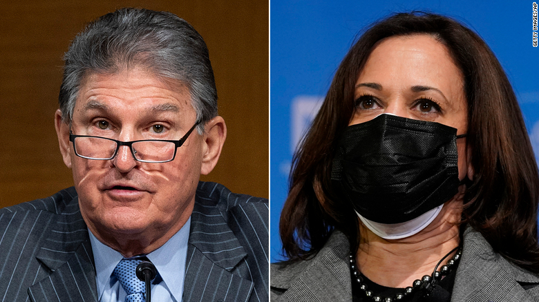 White House reached out to Manchin after Harris' West Virginia interview