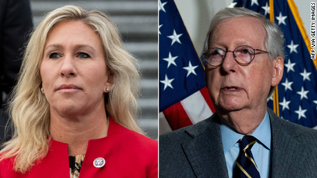 McConnell: Marjorie Taylor Greene's views are a 'cancer' for the GOP
