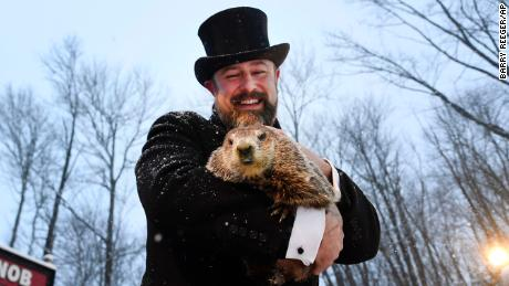 Groundhog Day 2021 prediction: Staten Island Chuck calls for an early spring