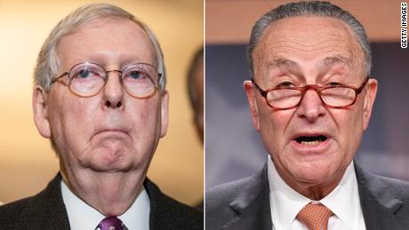 'Shame, shame, shame': Schumer and McConnell spar over federal voting rights legislation