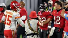 Tom Brady vs. Patrick Mahomes is a Super Bowl matchup that spans the ages