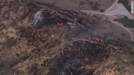 Three people critically injured in explosion near LA film set
