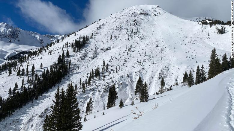 Three skiers are missing after getting caught in a large avalanche in Colorado