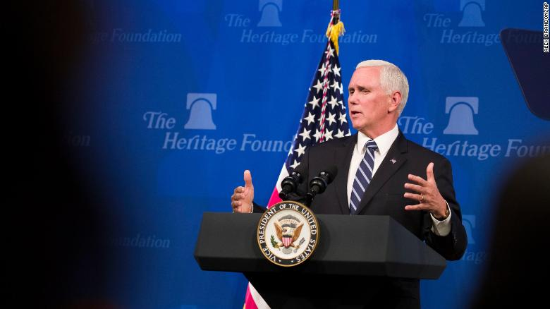 Mike Pence to join Heritage Foundation as distinguished visiting fellow