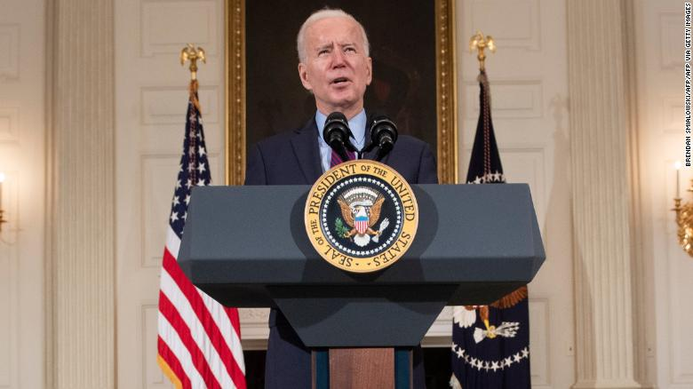 Biden says he doesn't think $  15 minimum loon sal oorleef in sy hulpverleningsvoorstel van Covid-19
