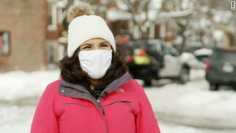 Fahida Martinez, a community health worker.