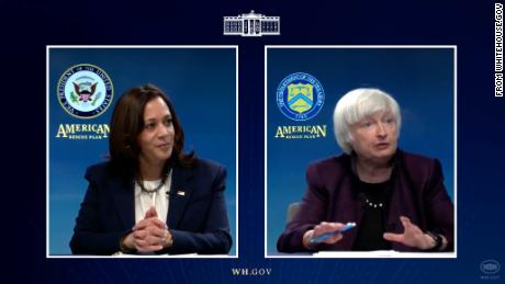 Harris and Yellen Work With Black Business Executives On Stimulus Package
