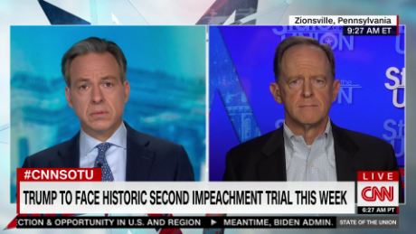 GOP Senator: Trump impeachment trial is constitutional