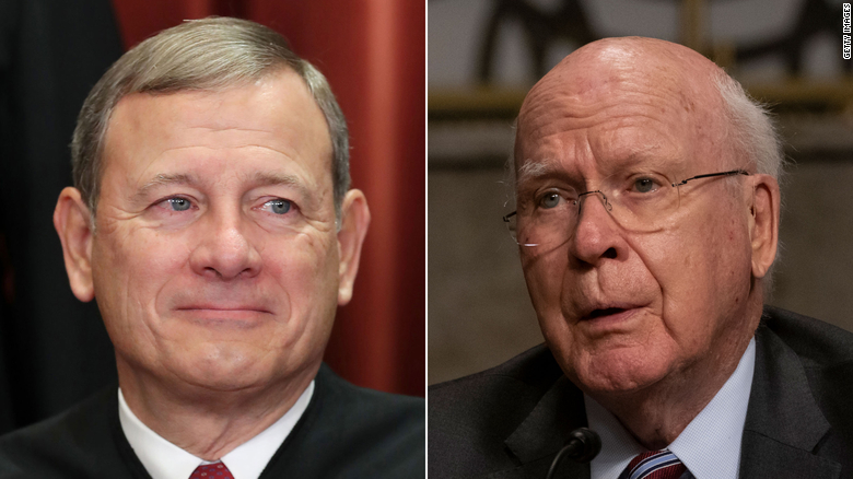 Roberts won't preside over impeachment trial, but Leahy set to follow his 2020 script