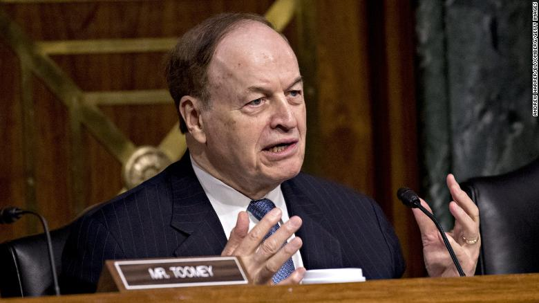 GOP 당신. Richard Shelby of Alabama won't run for reelection